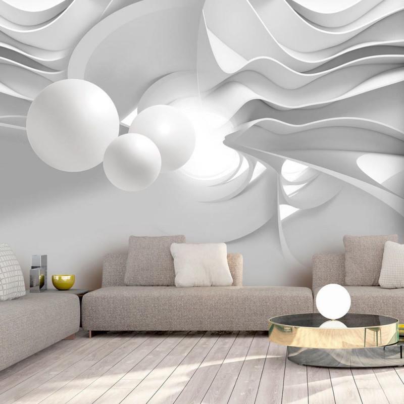 Fototapete 3D Optik Vlies Tapete 3D Effekt Wandbild Xxl von Wohnzimmer 3D Tapeten Bild