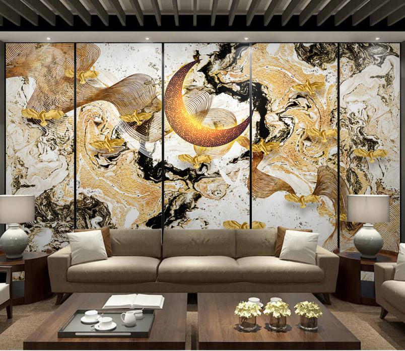 Fototapete Wohnzimmer Moderne Kunst Und Wand Nr Dec5484 Uwalls von Moderne Fototapeten Für Wohnzimmer Photo
