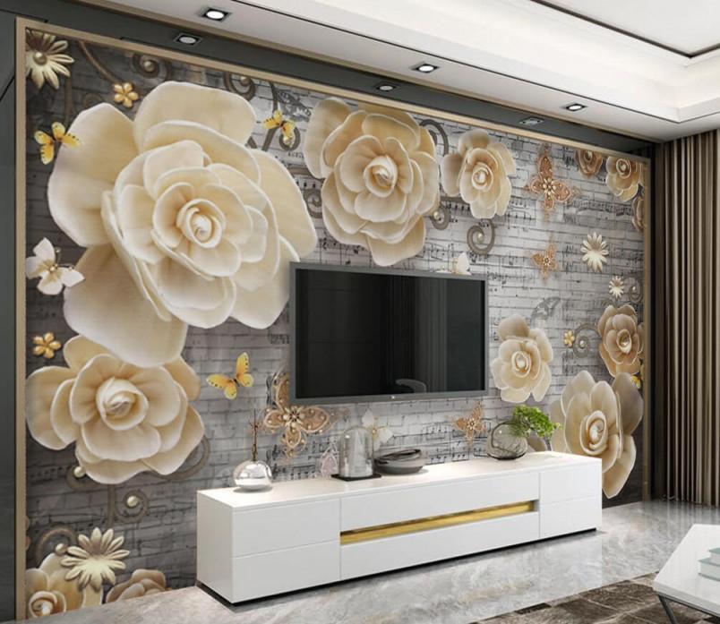 Fototapete Wohnzimmer Tapete Und Wand Nr Dec6125 Uwalls von Tapeten Für Wohnzimmer Bild