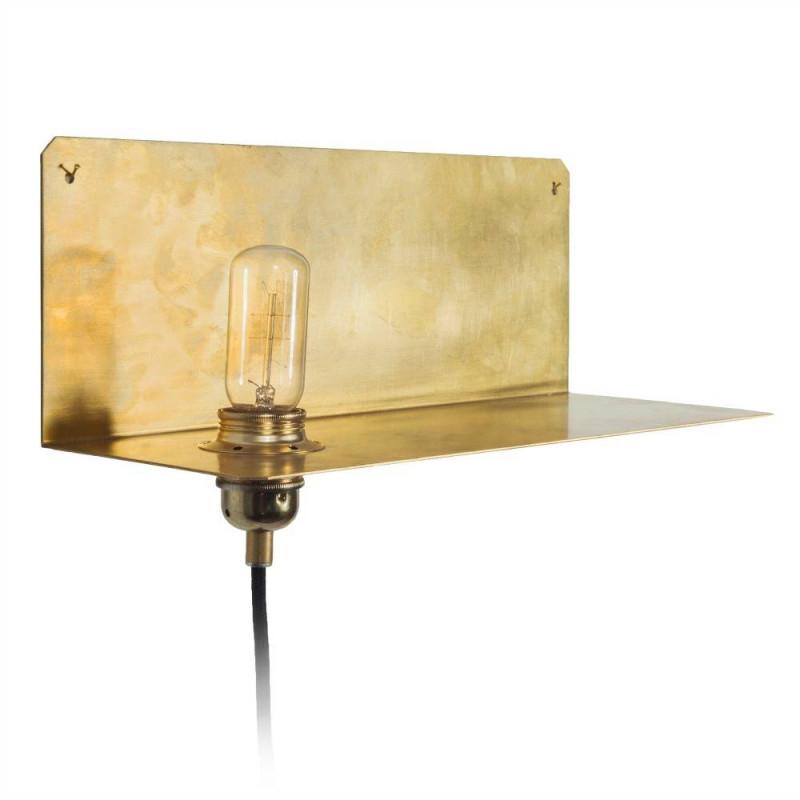 Frama Shop Lampe 90 ° Wall Brass Gold Messing 15X40X15Cm von Wohnzimmer Lampe Messing Photo
