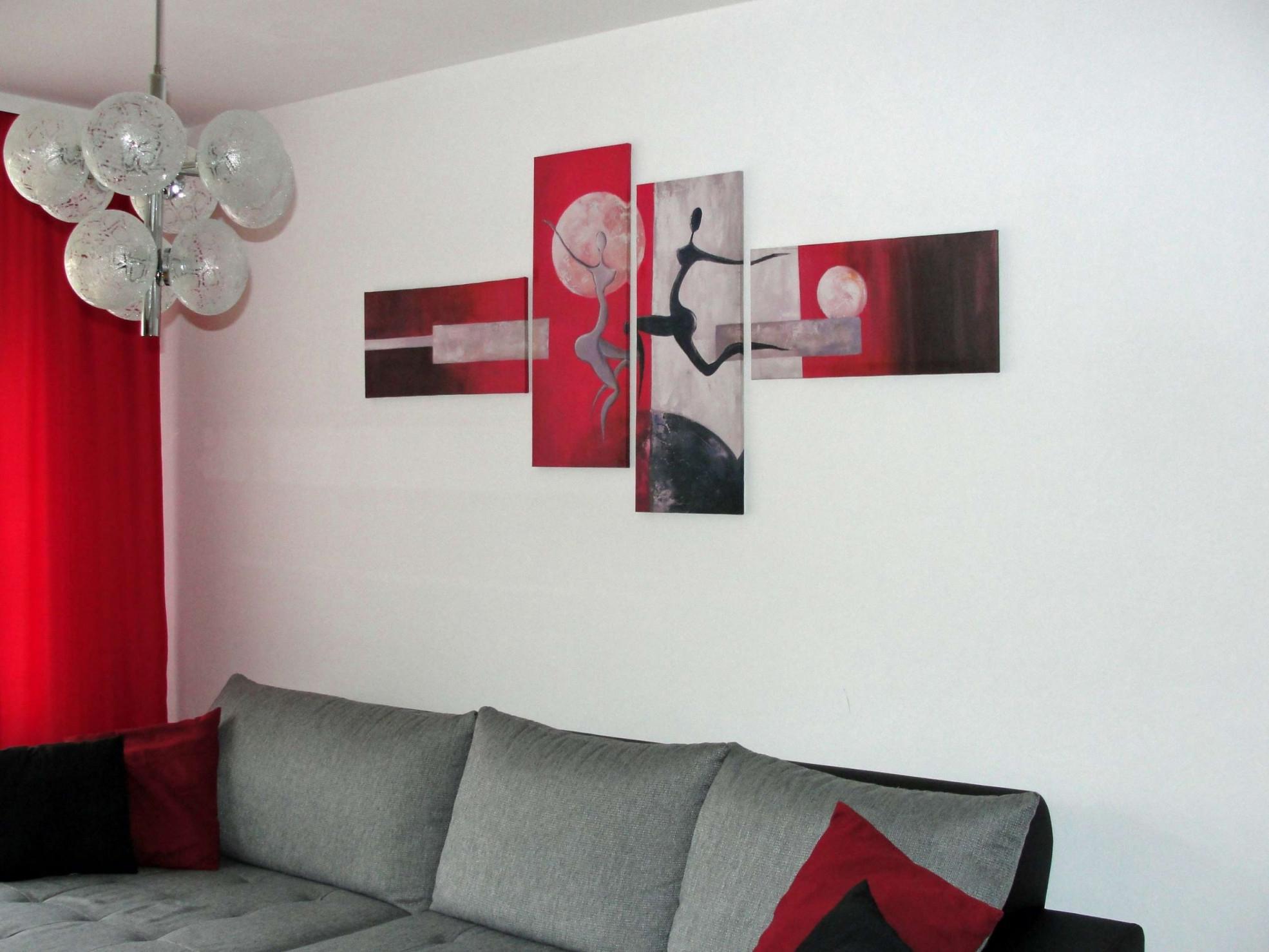 Frisch Wohnzimmer Deko Rot  Rote Wohnzimmer Wohnzimmer von Deko Rot Wohnzimmer Photo
