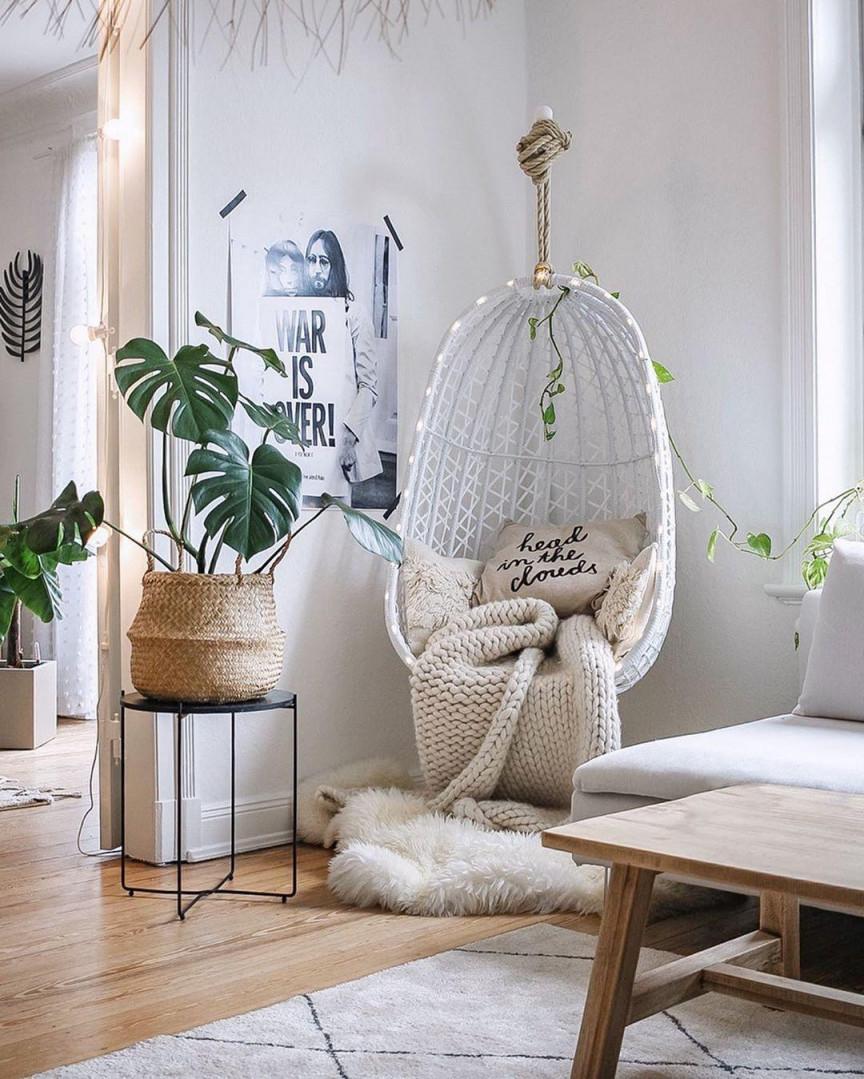 Ganz Große Hängesesselliebe🌙 Stuhl Sessel Wo von Große Deko Wohnzimmer Bild
