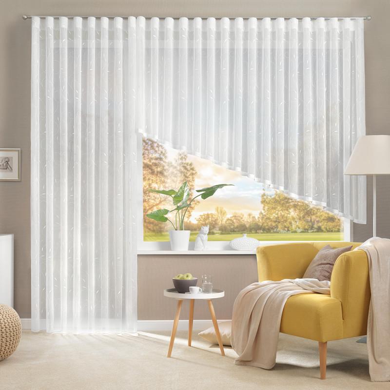 Gardine Und Store Für Ihr Wohnzimmer von Wohnzimmer Mit Gardinen Bild