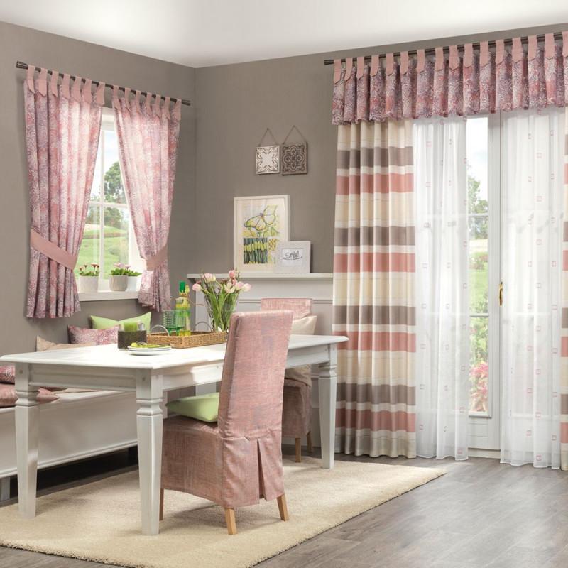 Gardine Verspielt Modern  Vorhänge Gardinen Vorhänge von Gardinen Querbehang Wohnzimmer Bild