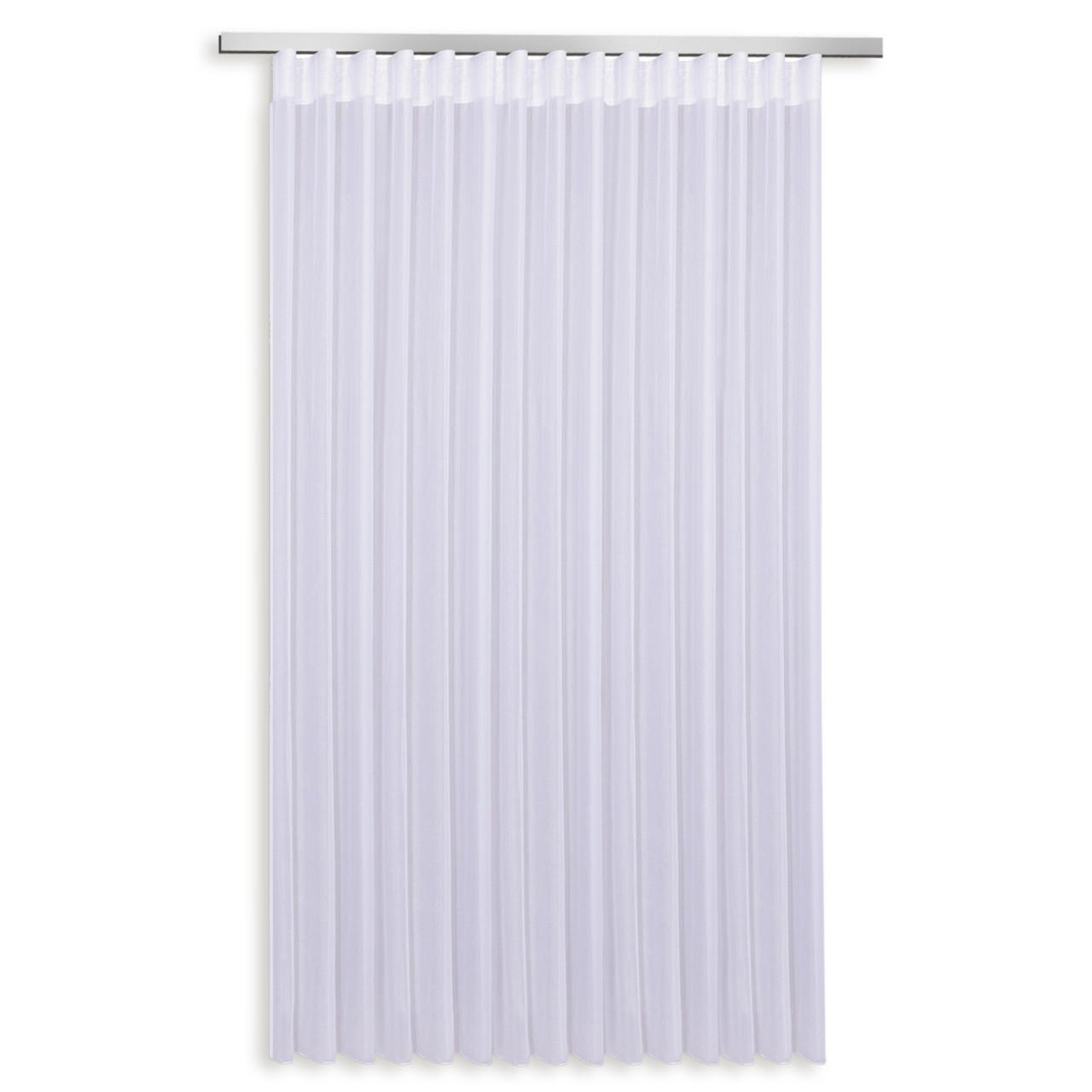 Gardine  Weiß  Wellenband  307X245 Cm von Gardinen Wohnzimmer Roller Photo