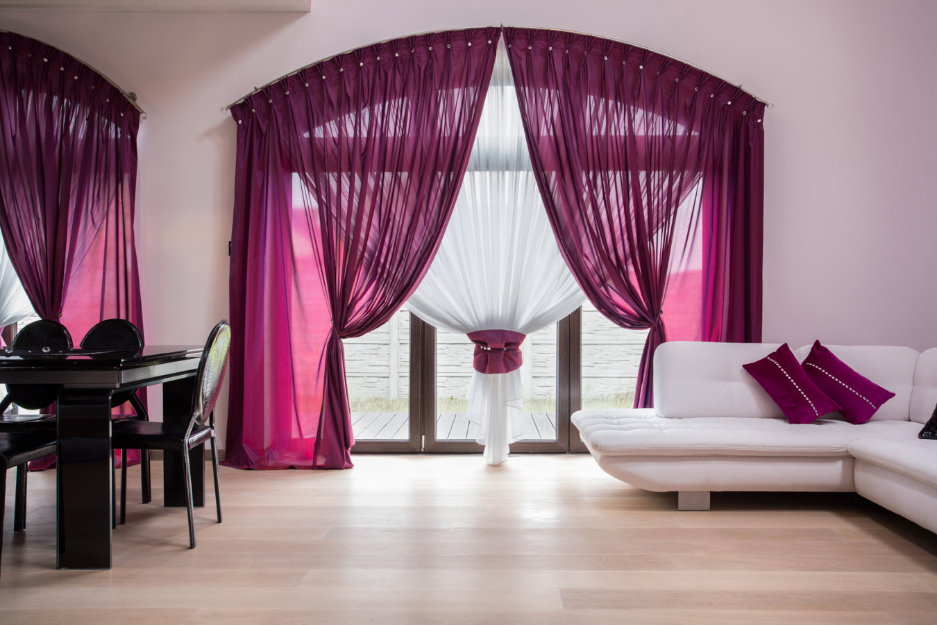 Gardinen 6 Ideen Für Das Wohnzimmer von Übergardinen Wohnzimmer Ideen Photo