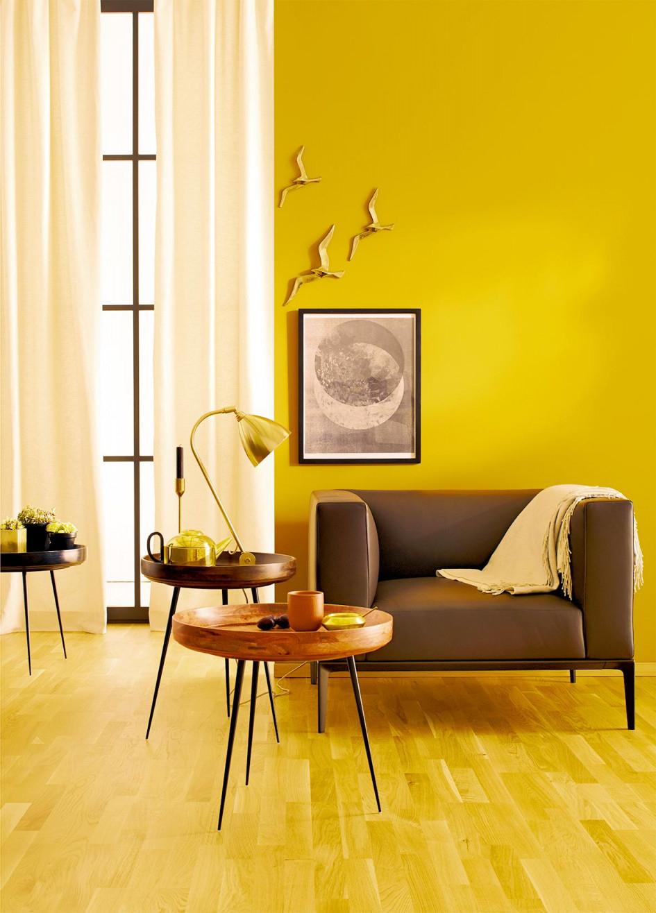Gardinen – Praktisch Und Schön So Geht's von Schöner Wohnen Gardinen Wohnzimmer Bild