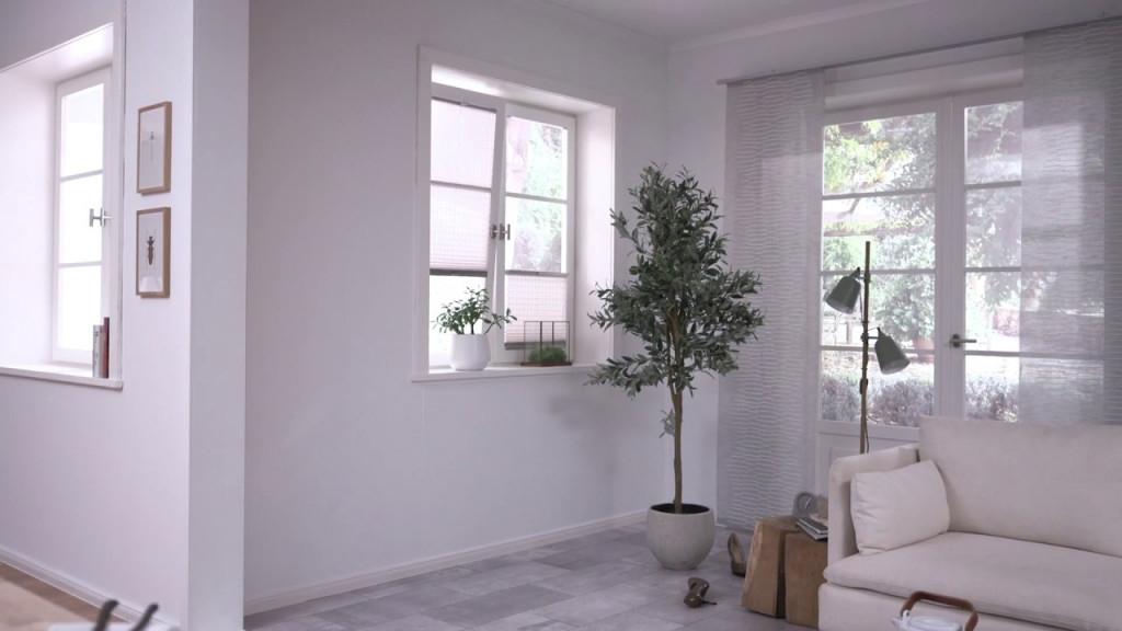 Gardinenstoffe  Wohnideen  Inspirationen von Gardinen Wohnzimmer Hammer Bild