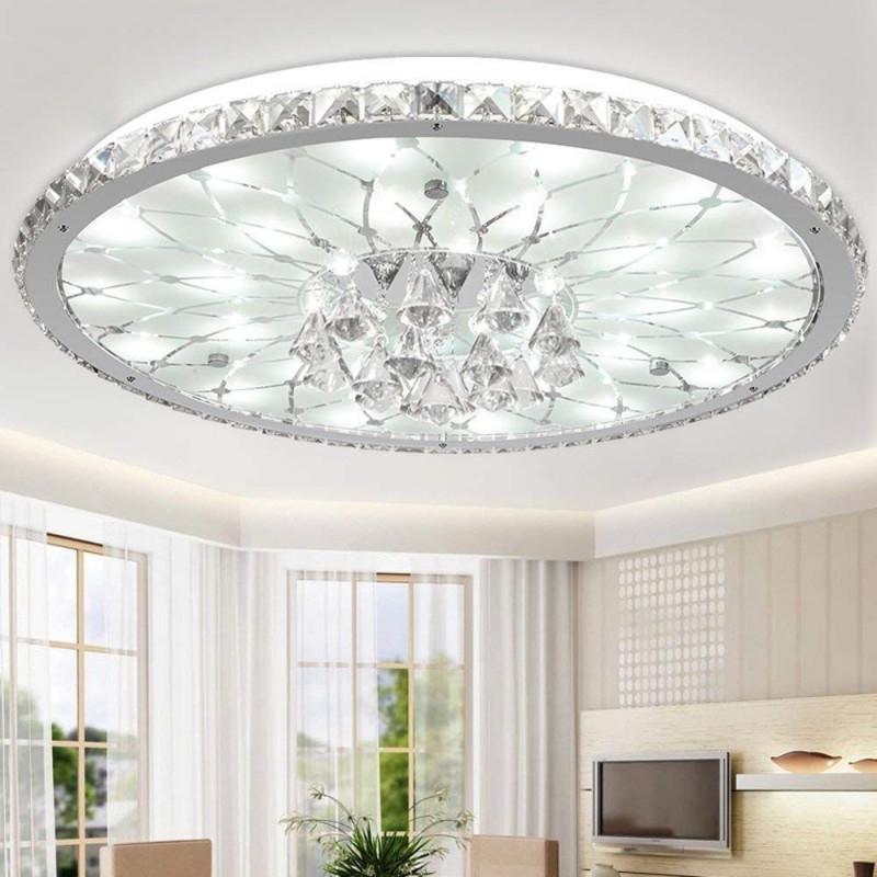 Gcp 15W Moderne Kreative Design Leddeckenleuchte Runde von Wohnzimmer Lampe Kristall Bild