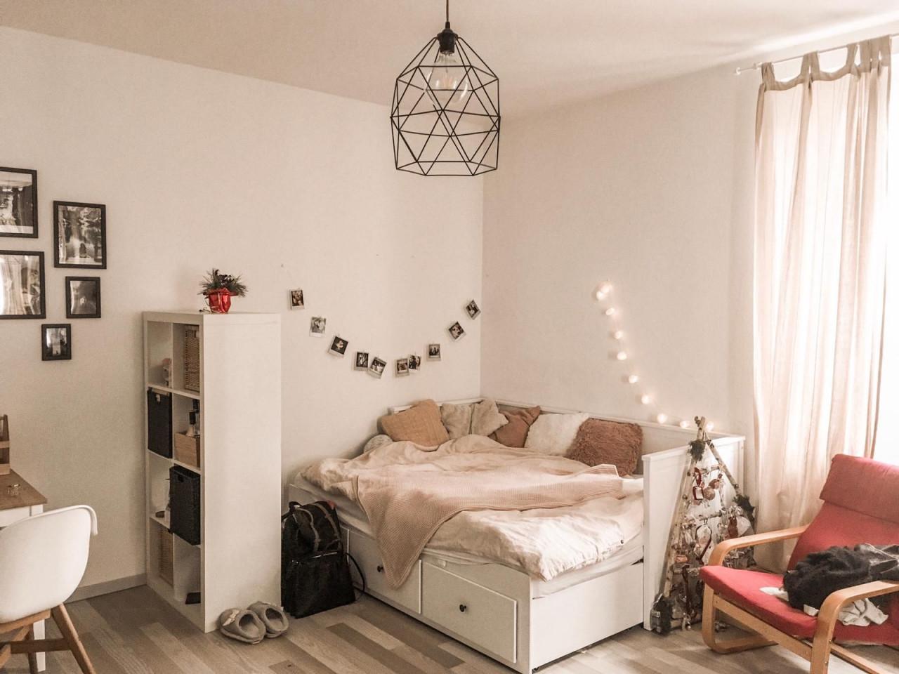 Gemütliche Schlafecke  Zimmer Einrichten Zimmer Einrichten von Schlafecke Im Wohnzimmer Einrichten Photo