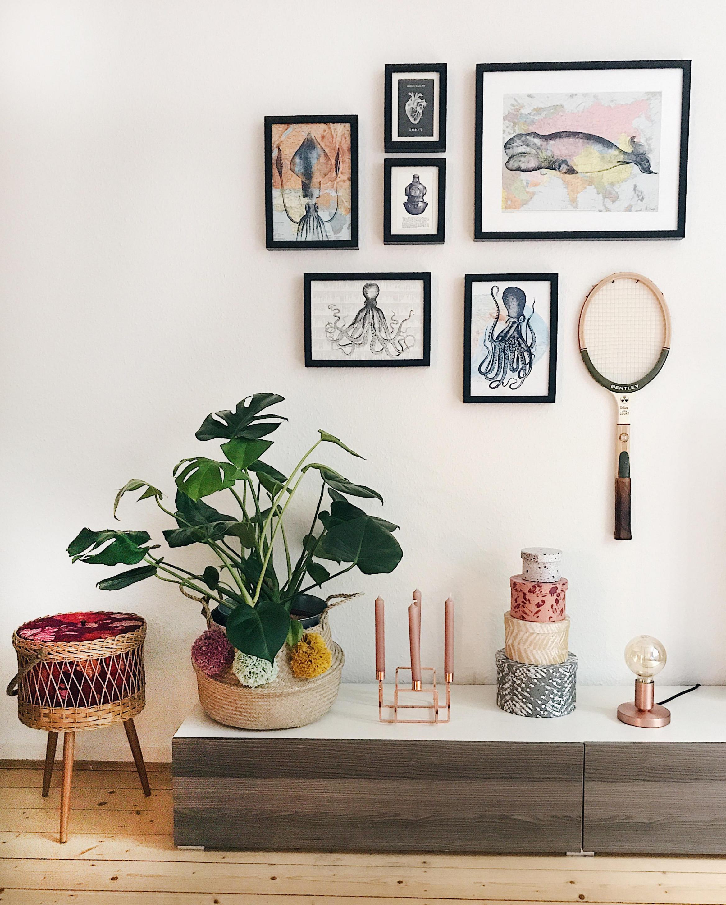 Gemütliches Flair Dank Kupferdeko von Kupfer Deko Wohnzimmer Bild