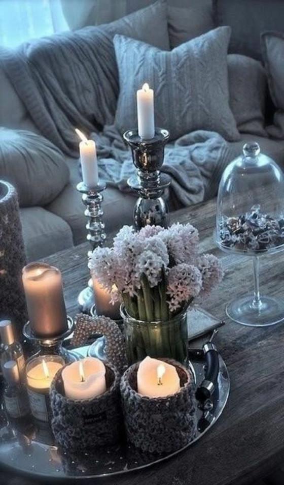 Gemütlichetischdekoselbermachenwohnzimmer  Dekoration von Deko Für Tisch Wohnzimmer Bild