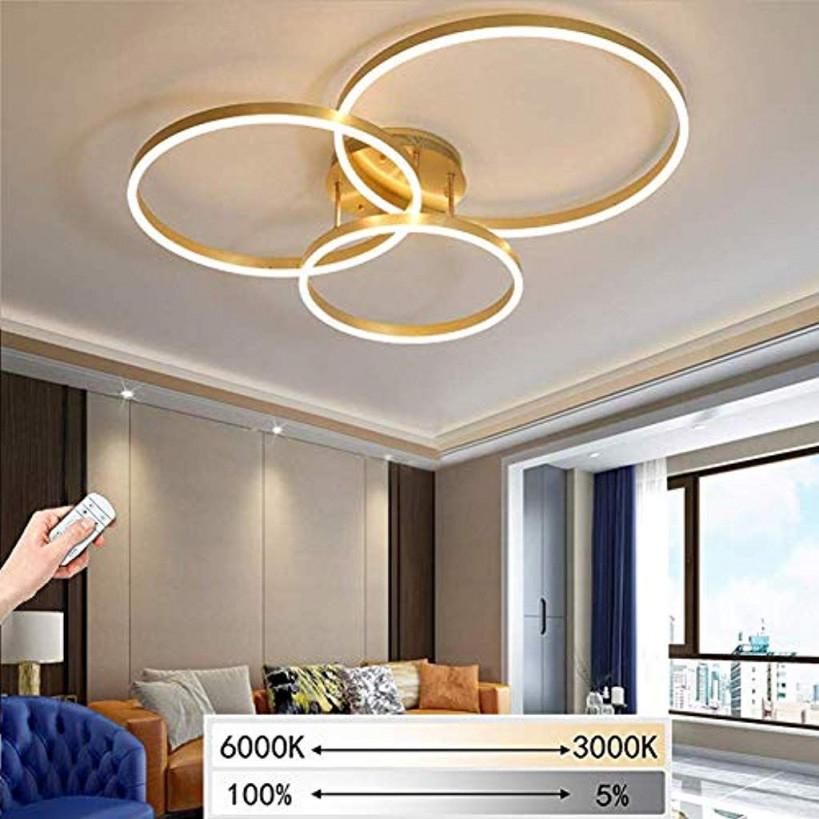 Giow Led Deckenleuchte Wohnzimmer Lampe Schlafzimmer von Deckenleuchte Wohnzimmer Gold Bild