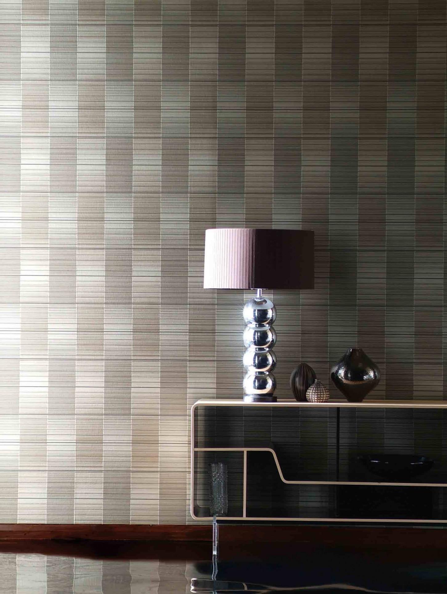 Grafische Grüße Vom Bauhaus  Blog  Lookbook  Tapeten Der 70Er von Tapeten Wohnzimmer Bauhaus Photo
