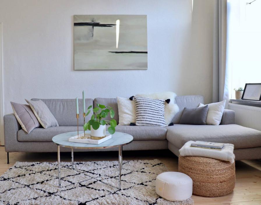 Graues Sofa Der Allrounder Für Dein Zuhause – Wohnklamotte von Wohnzimmer Ideen Graues Sofa Bild