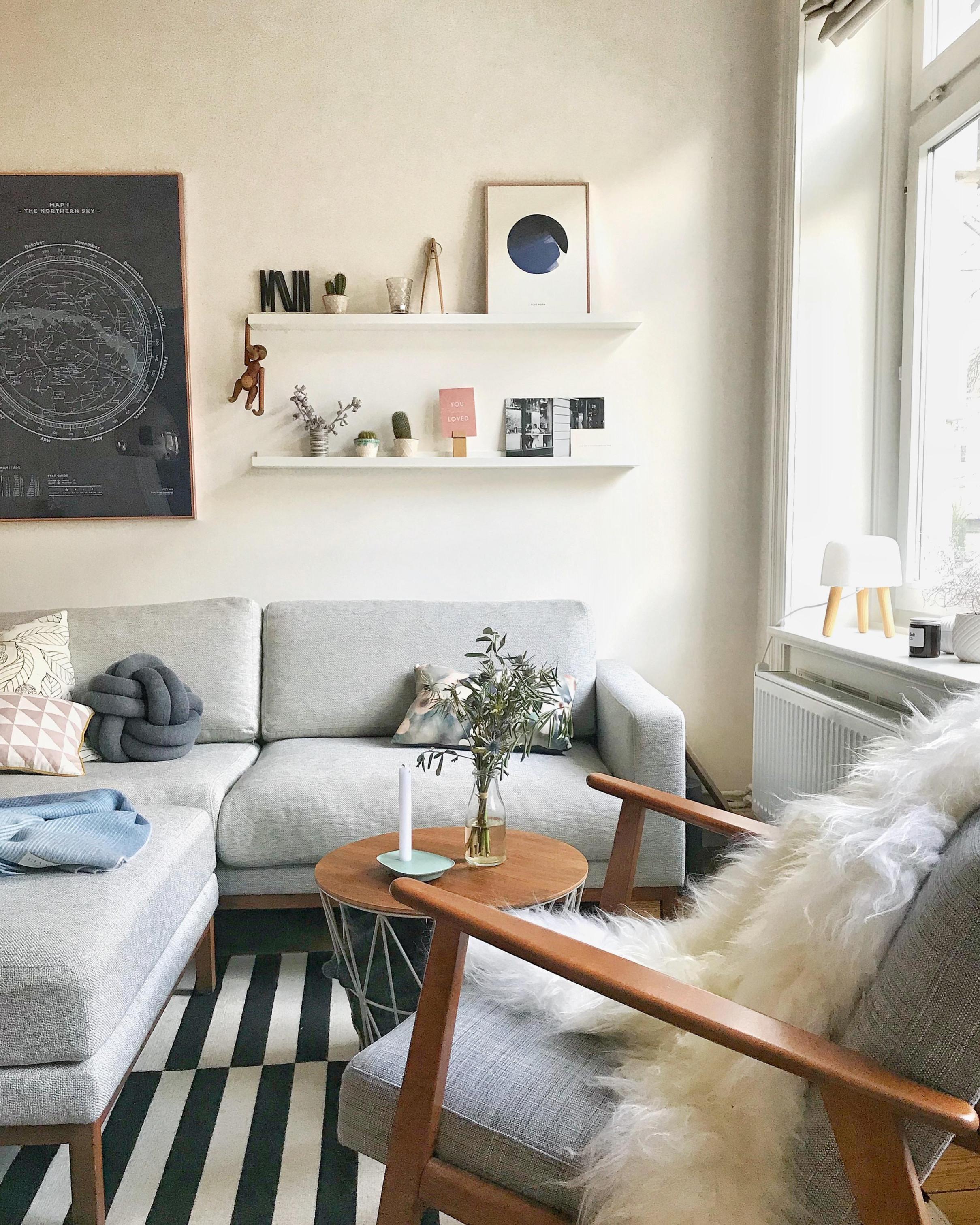 Graues Sofa • Bilder  Ideen • Couch von Wohnzimmer Ideen Graues Sofa Bild