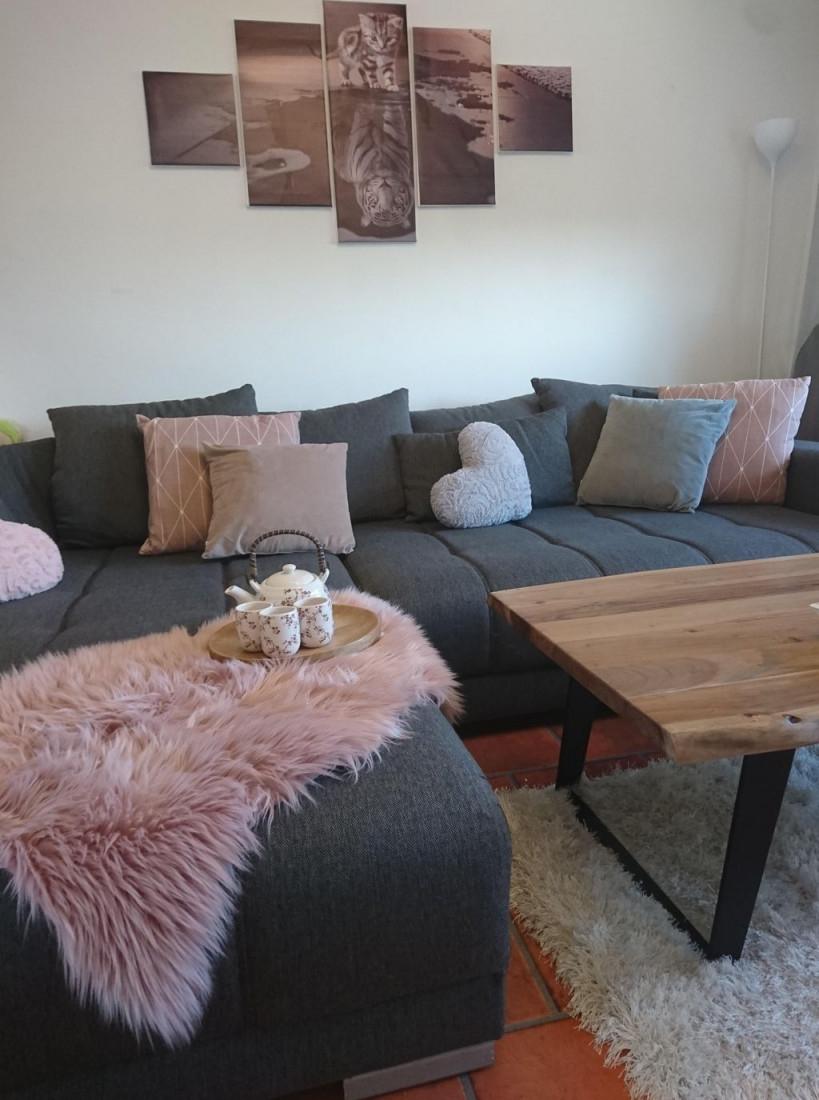 Graues Sofa • Bilder  Ideen In 2020  Wohnzimmer Grau Weiß von Wohnzimmer Ideen Graues Sofa Bild