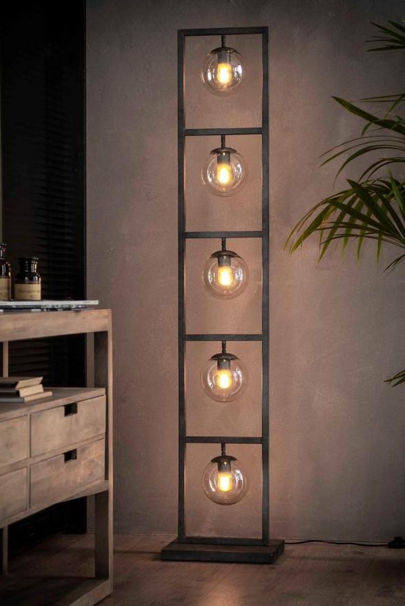 Great Industrial Lamp Sculpture  Stehlampen Wohnzimmer von Wohnzimmer Lampe Industrial Photo