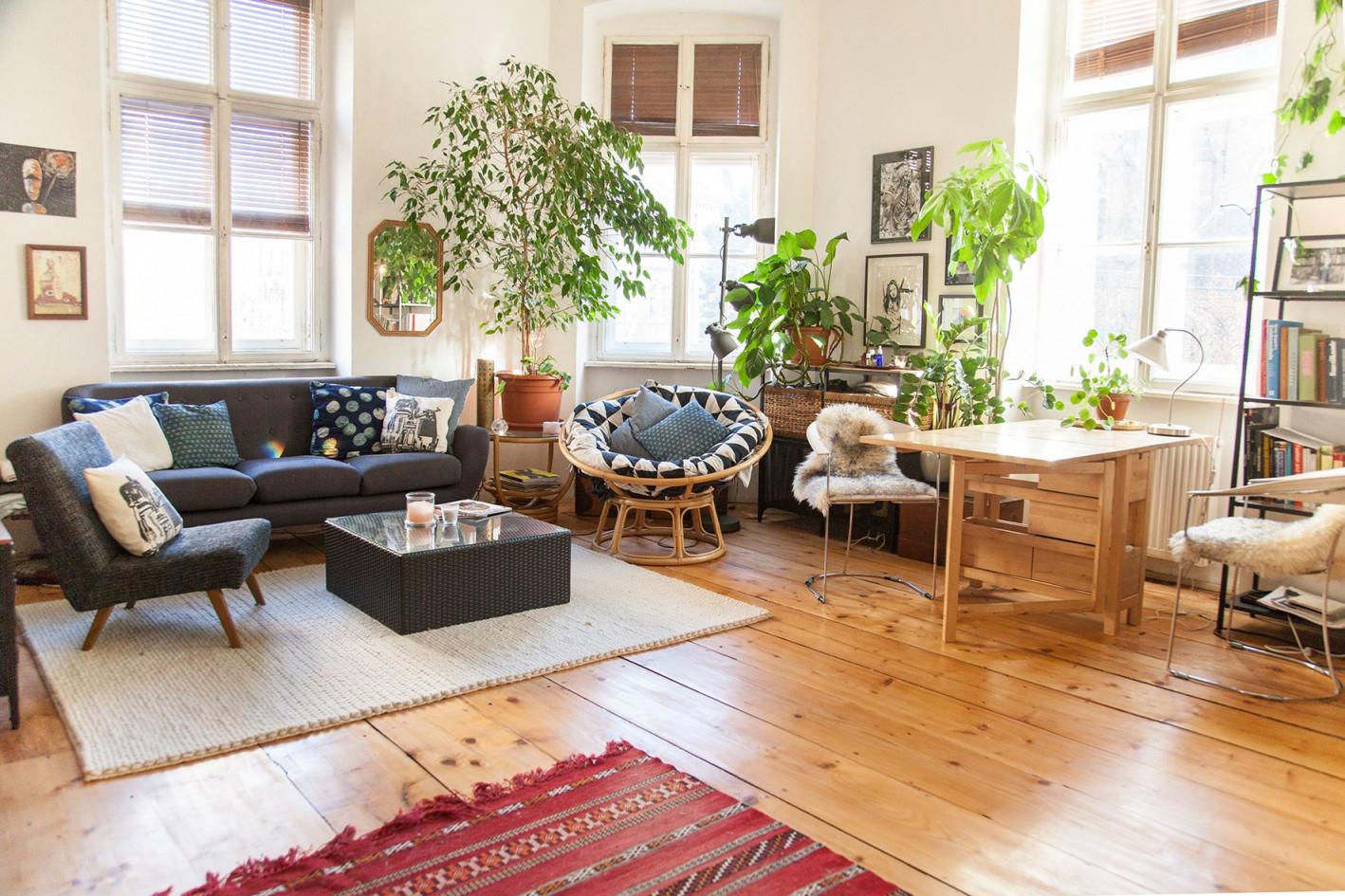 Großes Wohnzimmer In Wiener Altbau In 2020  Großes von Große Wohnzimmer Bilder Photo
