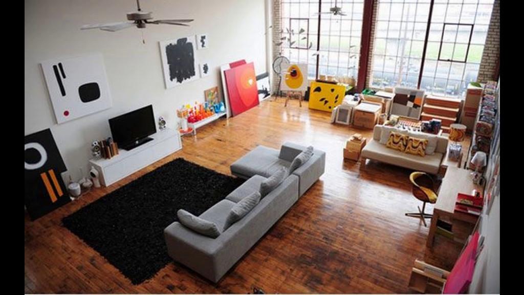 Großes Wohnzimmer Innenarchitektur Ideen  Youtube von Großes Wohnzimmer Modern Einrichten Bild