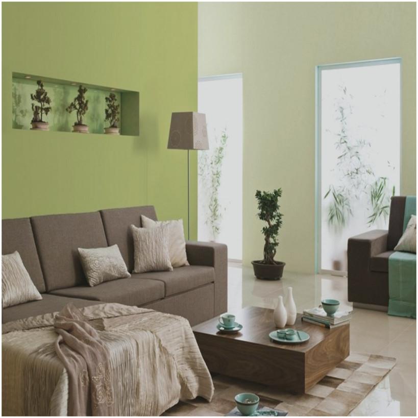 Grüne Deko Wohnzimmer  Einzigartige 29 Ideen Fürs von Grüne Deko Wohnzimmer Bild