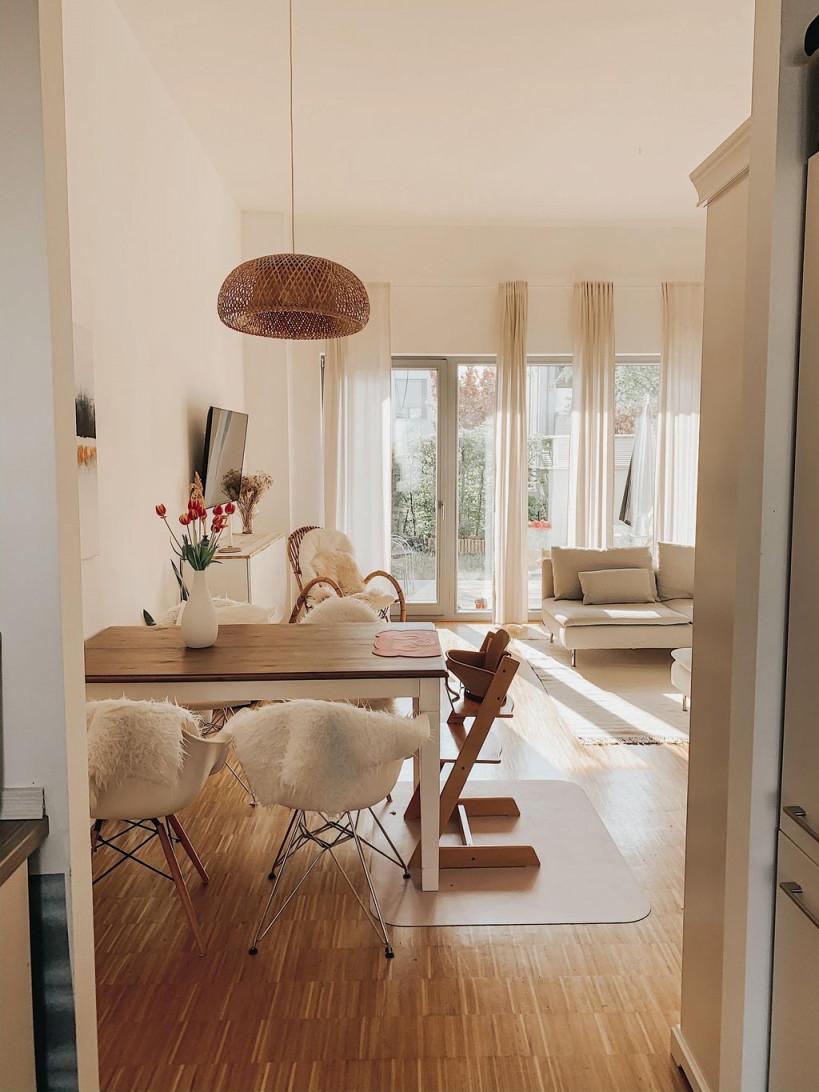 Guten Morgen Aus Unserem Wohnessbereich Wohnzimme In von Wohnzimmer Mit Esstisch Einrichten Bild