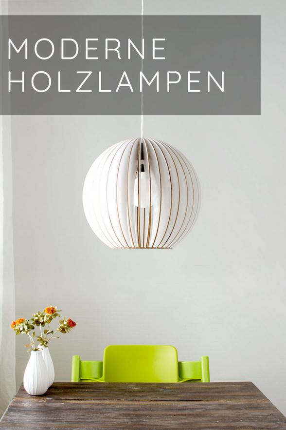 Hängelampen  Satamo  Lampe Holz Wohnzimmer Holzlampe von Wohnzimmer Lampe Hängend Holz Bild