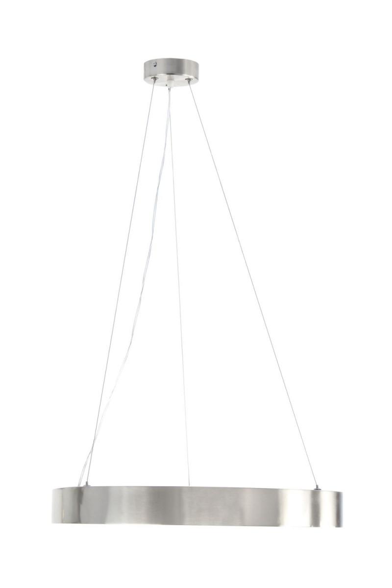 Hängeleuchte Silber Rund Ring Hängelampe Lampe Led Wohnzimmer Modern 50 von Wohnzimmer Lampe Silber Photo