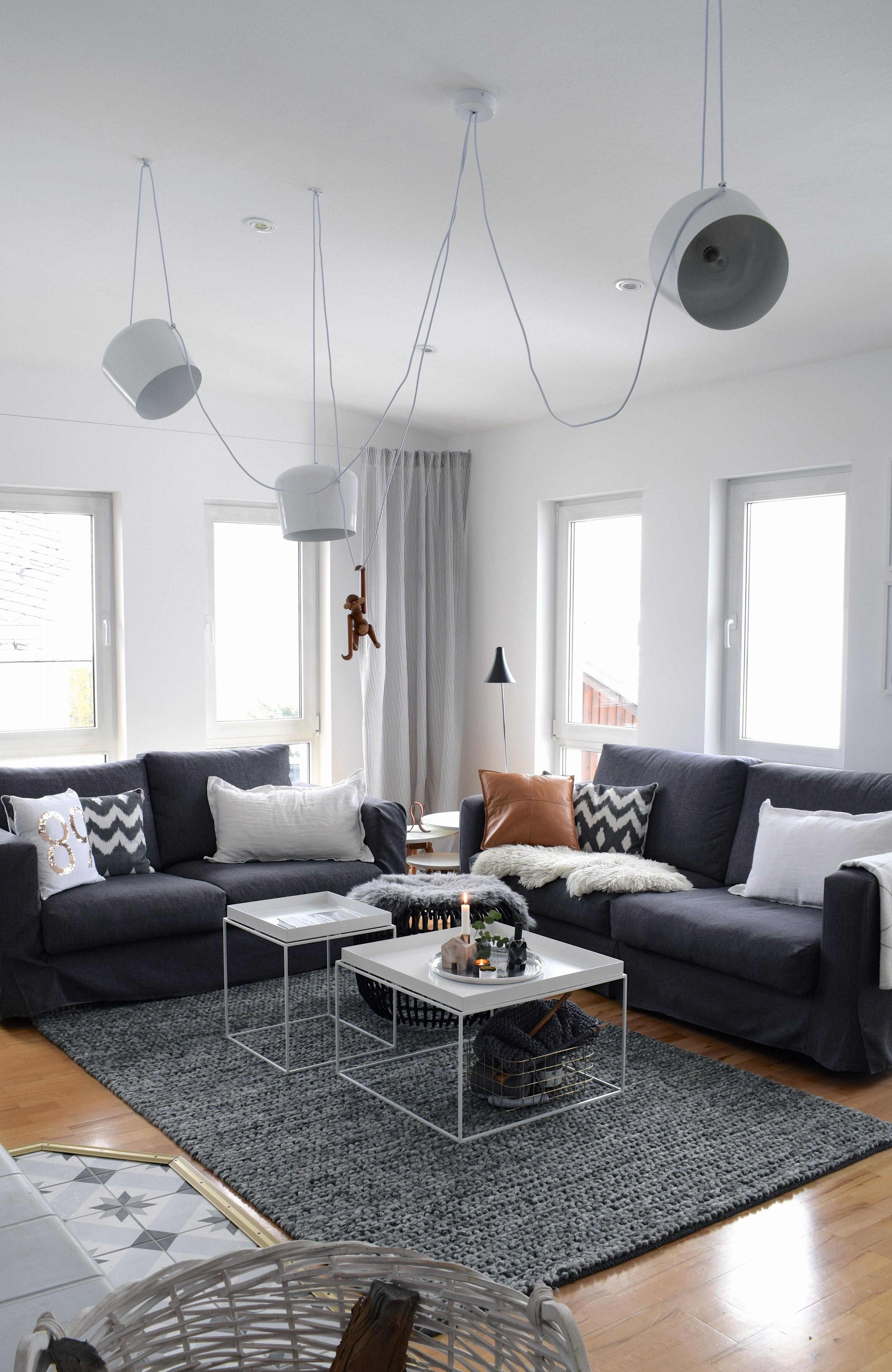Hausbesichtigung Teil 3 – Unser Wohnzimmer – 107Qmschwarz von Wohnzimmer Deko Schwarz Bild