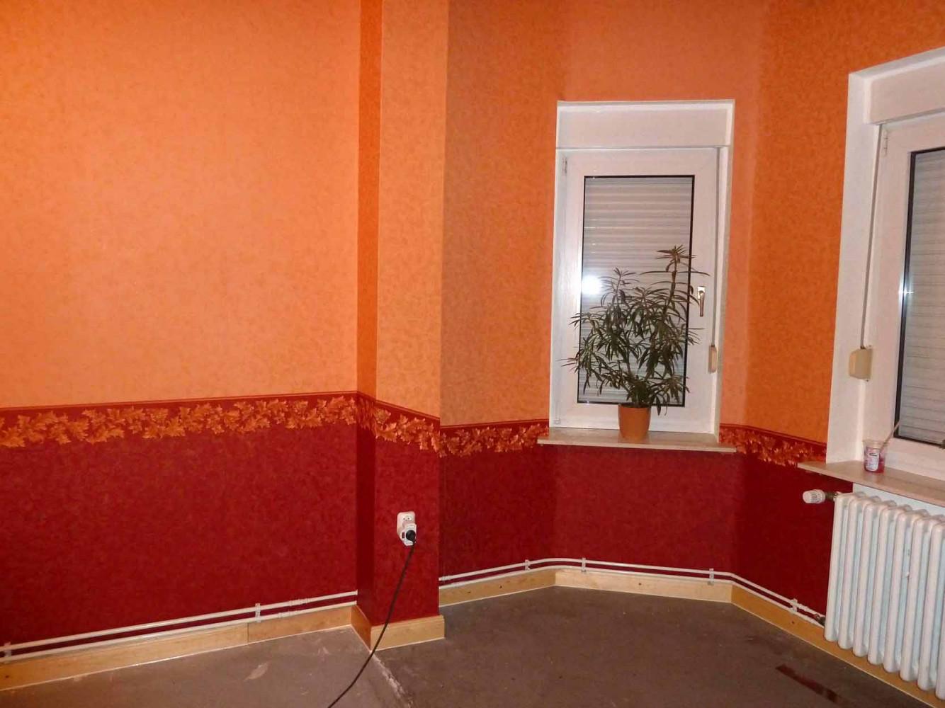 Heimwerker Renovieren  Tapeten Selber Tapezieren von Tapeten Farben Wohnzimmer Bild