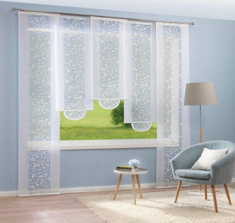 Heine Home Schiebevorhang Bedruckt Gedrucktes Dessin Online von Heine Gardinen Wohnzimmer Photo
