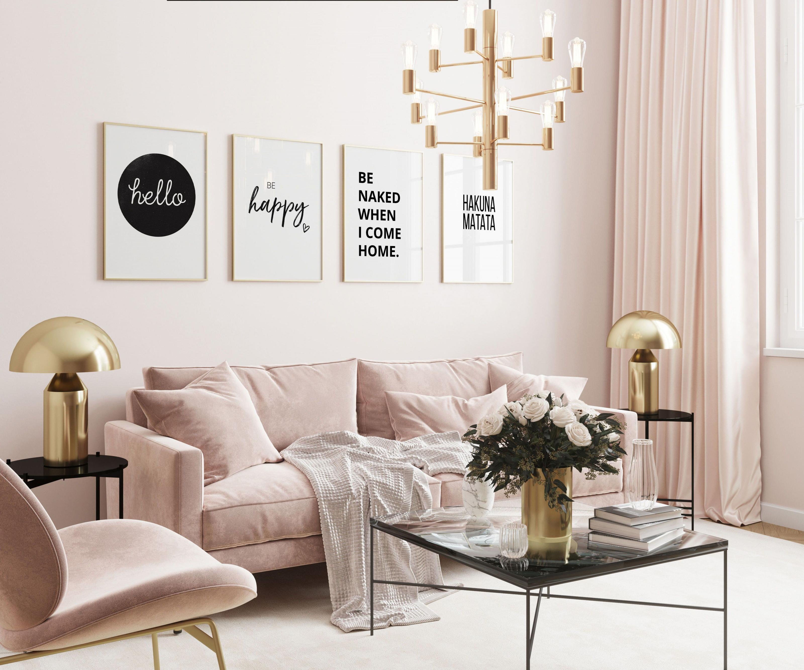 Hello  Be Happy In 2020  Haus Deko Innenarchitektur von Deko Set Wohnzimmer Bild