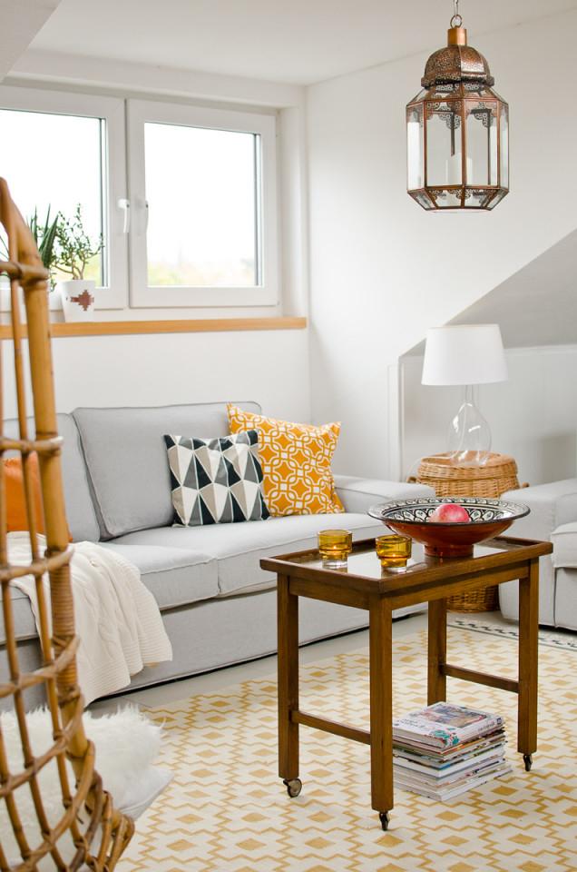 Herbst Im Wohnzimmer  Leelah Loves von Senfgelb Deko Wohnzimmer Photo