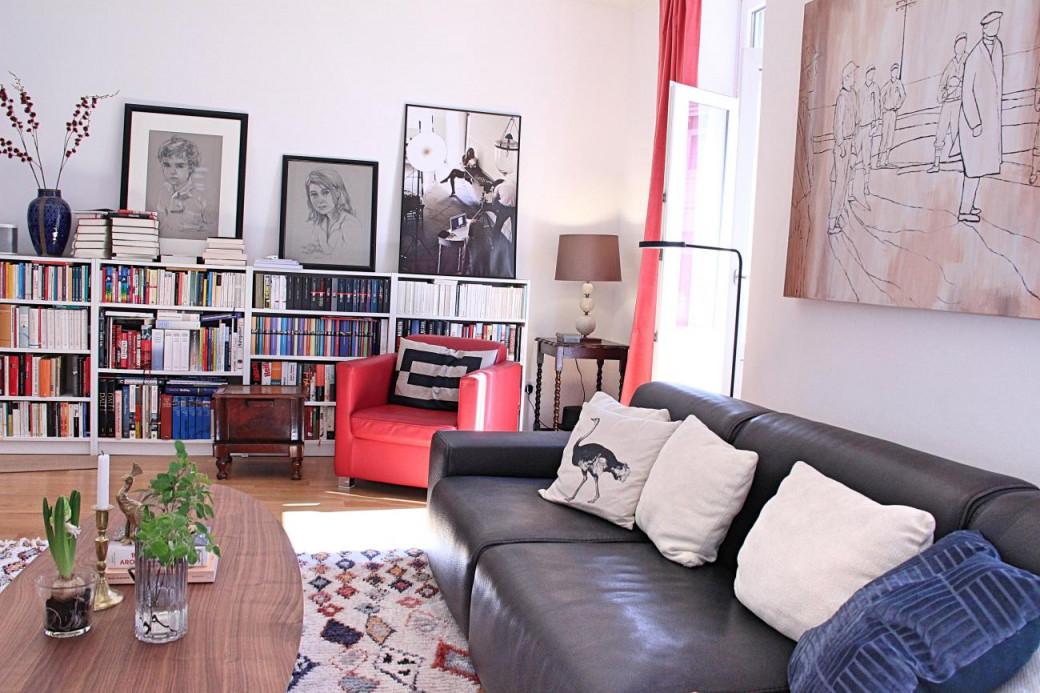Hereinspaziert Ins Bunte Wohnzimmer ⋆ Valerie Gerards von Altbau Wohnzimmer Einrichten Bild
