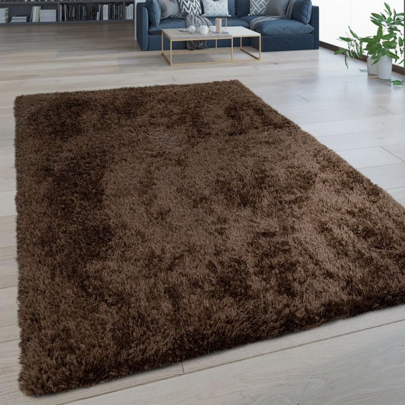 Hochflorteppich Wohnzimmer Shaggy von Teppich Pflegeleicht Wohnzimmer Bild