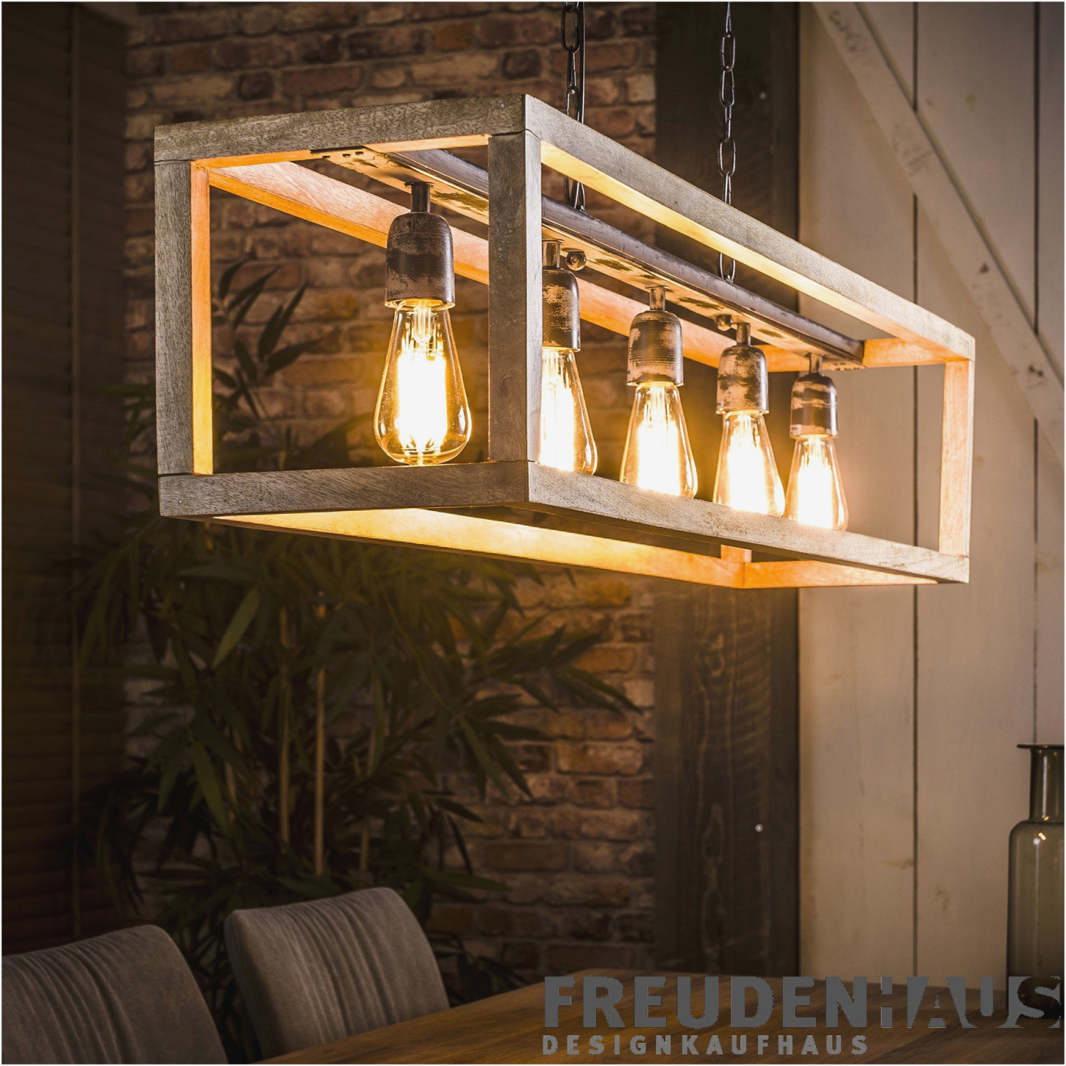 Holz Rustikal Lampe Wohnzimmer  Wohnzimmer  Traumhaus von Wohnzimmer Lampe Rustikal Bild