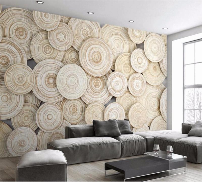 Holz Tapete Wohnzimmer Design von Design Tapeten Wohnzimmer Photo