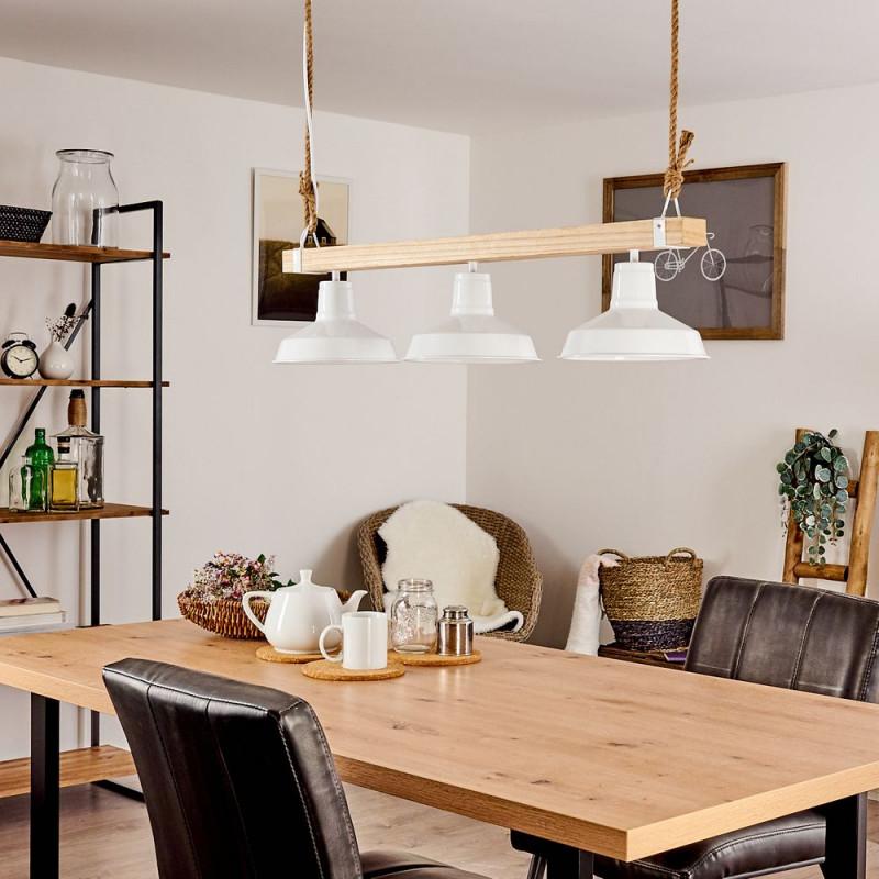 Holzlampen Die Schönsten Lampen Aus Holz  Lampe Magazin von Wohnzimmer Lampe Holzbalken Photo
