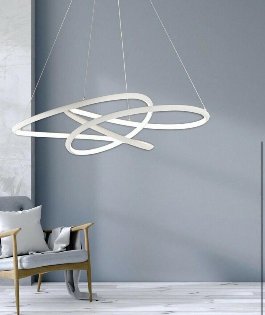 Home Furniture  Diy Honsel 20251 Smd Led Helle Deckenlampe von Helle Deckenleuchte Wohnzimmer Bild