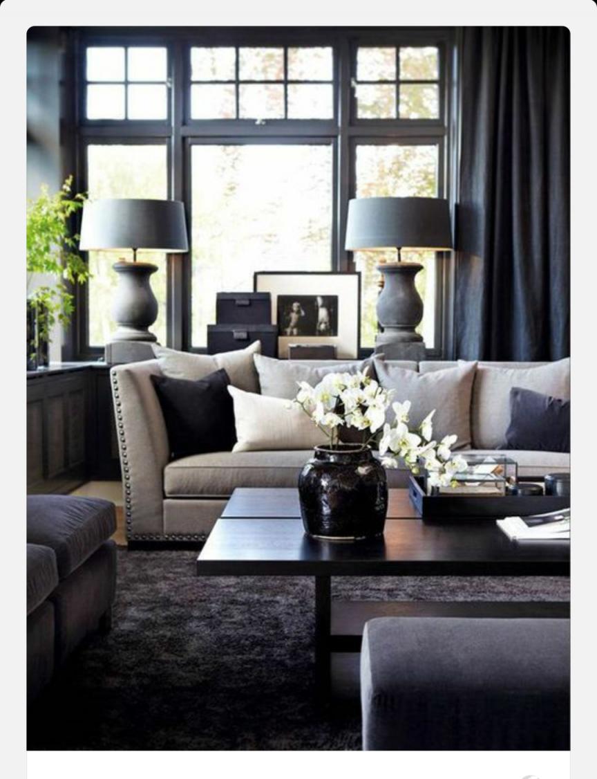 Home Inspo Modern Interior Design Fashion Home Decor von Schwarzer Teppich Wohnzimmer Bild
