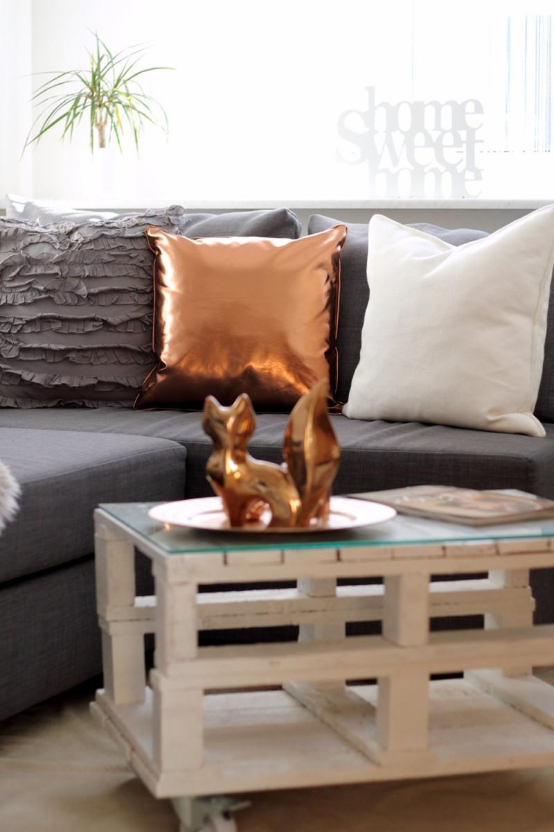 Home Sweet Home  Wohnzimmer  Lavie Deboite von Kupfer Deko Wohnzimmer Bild