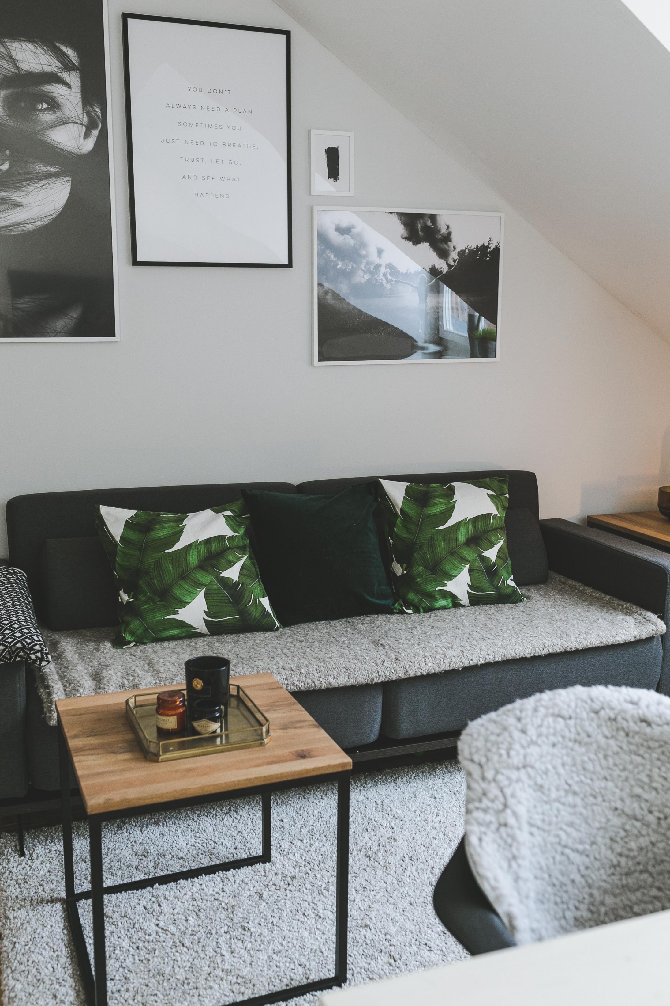 Homestory Dezent In Grau Mit Alpina Feine Farben Zeit Der von Wohnzimmer Einrichten Grau Photo