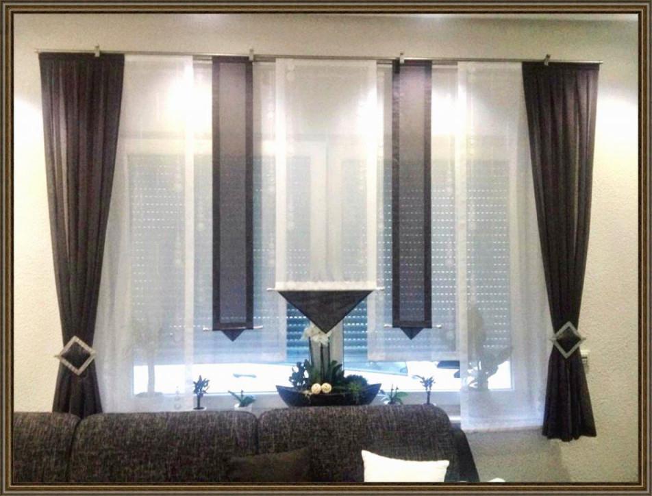 Ideen 41 Zum Gardinen Für Grosse Terrassenfenster  Fenster von Gardinen Wohnzimmer Großes Fenster Bild