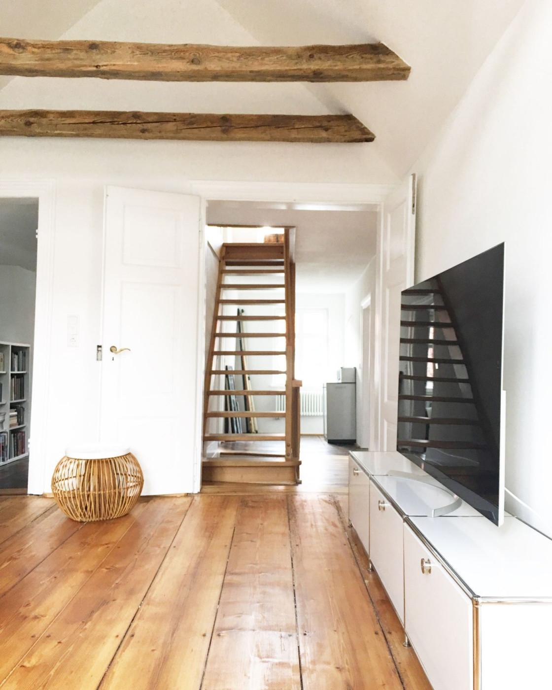 Ideen Für Deine Wohnung Im Dachgeschoss Mit Dachschrägen von Dachgeschoss Wohnzimmer Einrichten Photo