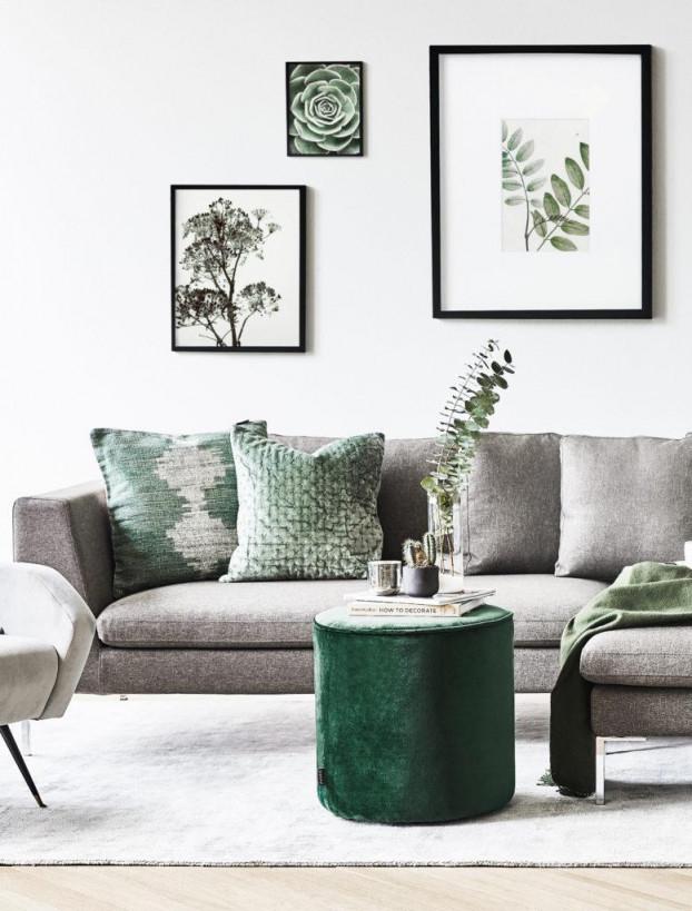 Ideen Und Inspiration Wohnzimmer Modern Gestalten  Westwing von Wohnzimmer Grau Grün Deko Photo