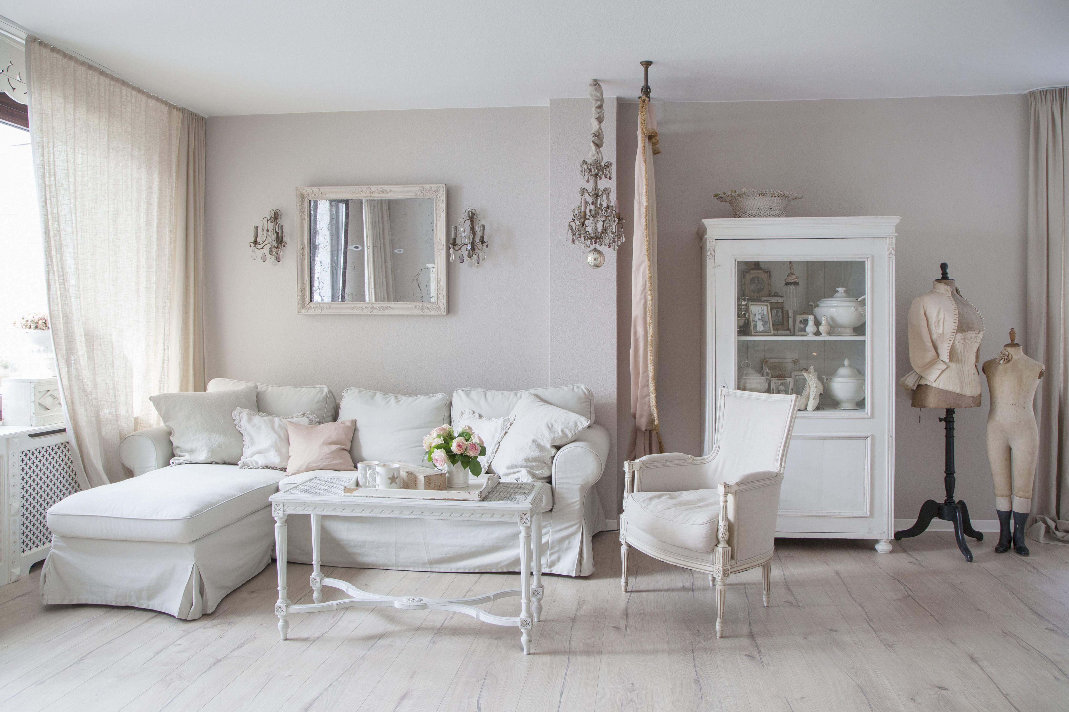 Ideen Zur Individuellen Wohnzimmergestaltung  Das Haus von Wohnzimmer Landhausstil Bilder Bild