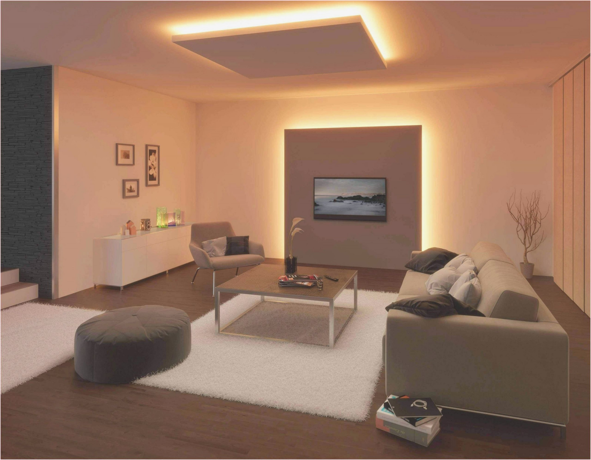 Ideen Zur Wohnzimmer Deckengestaltung  Wohnzimmer von Deckengestaltung Wohnzimmer Ideen Bild
