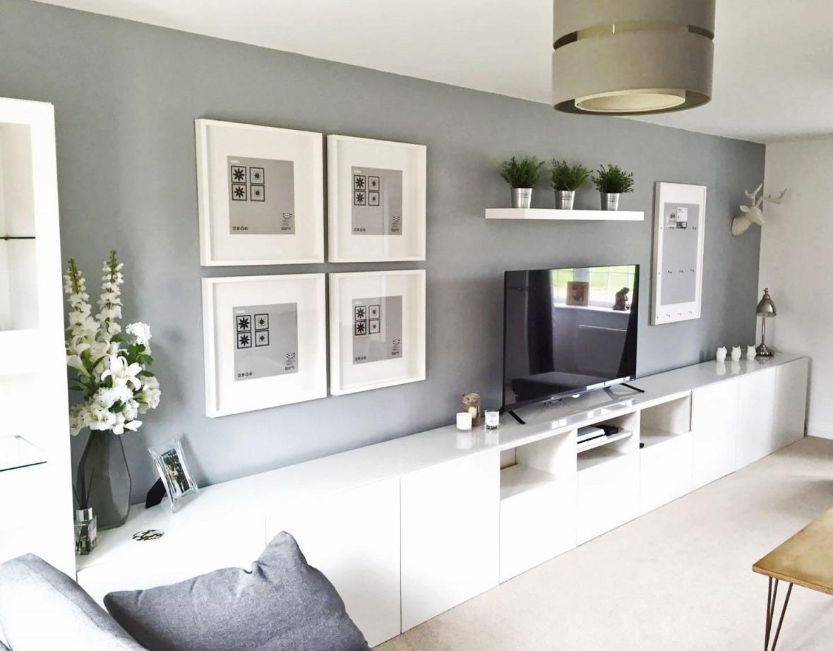 Ikea Bestå Living Room Tv Unit Picture Frames Ribba von Wohnzimmer Besta Ideen Photo