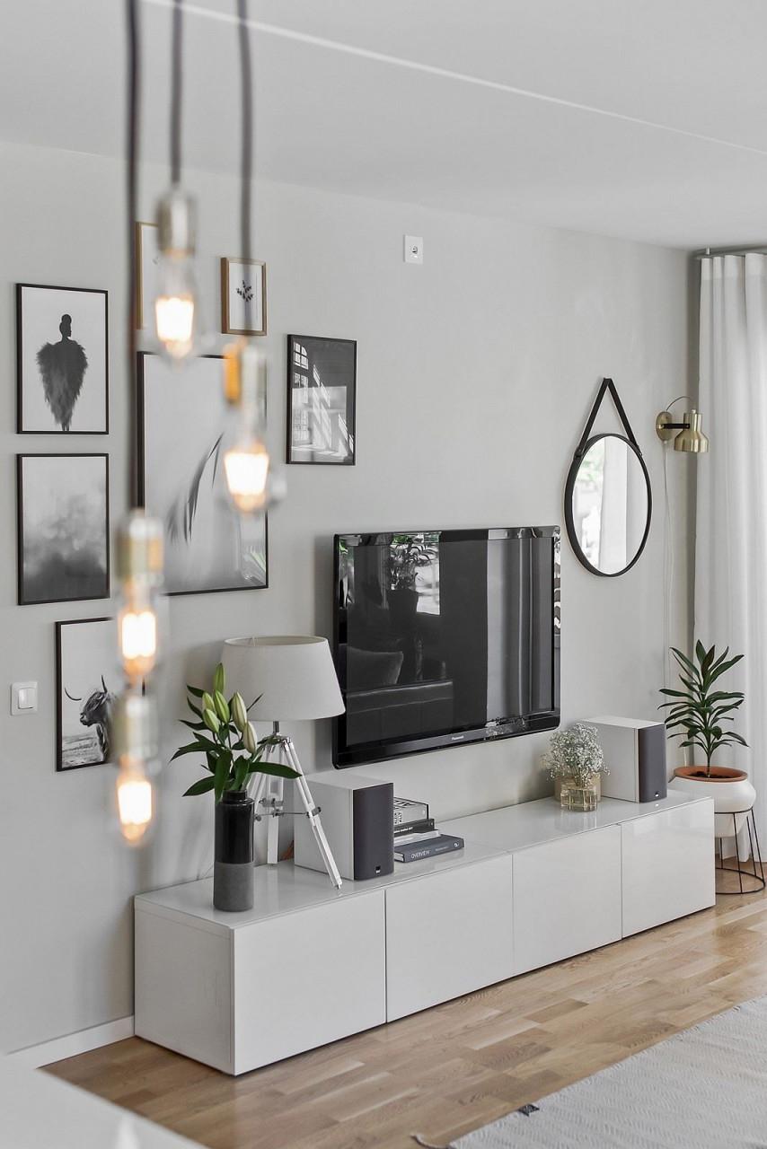 Ikea 'bestå' Sideboard  Whg  Einrichtungsideen Wohnzimmer von Besta Ideen Wohnzimmer Photo