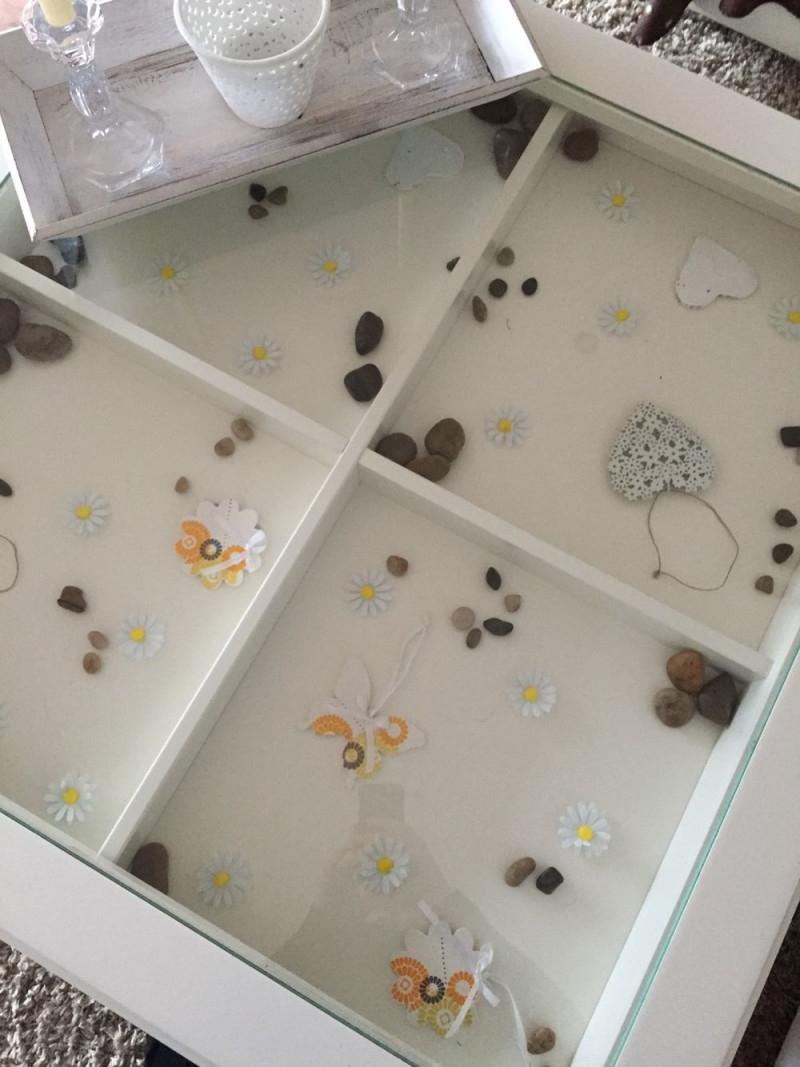 Ikea Liatorp Tisch Deko Für Die 4 Fächer Dezente von Deko Für Wohnzimmer Glastisch Bild